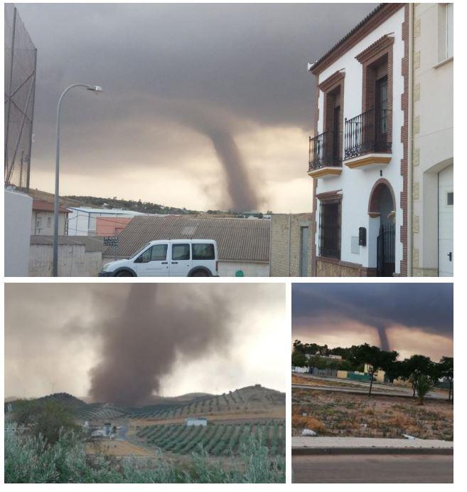 El Tiempo En Málaga Tornado En Campillos La Dana Trae Sorpresas