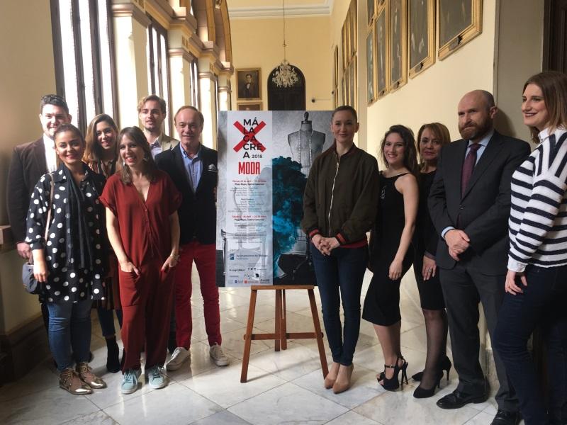 Presentación de la final del MálagaCrea Moda 2018
