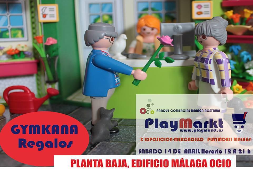 Mercadillo de Playmobil en Málaga sábado 14 de abril